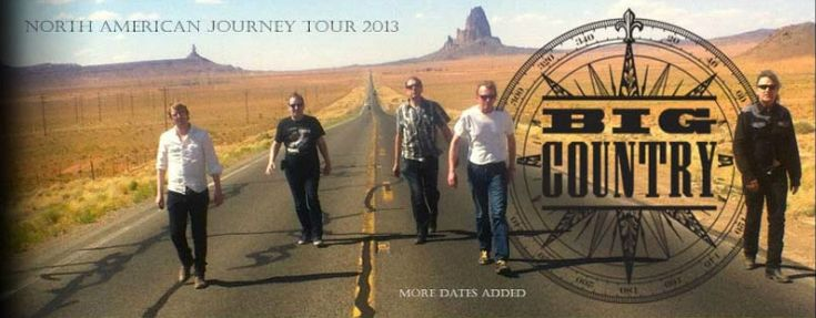 Big Country's North American Journey Tour 2013