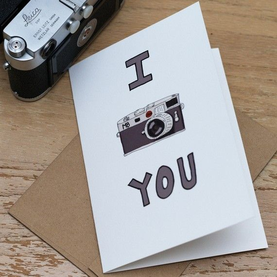 Photography & Camera Inspired Greeting Cards