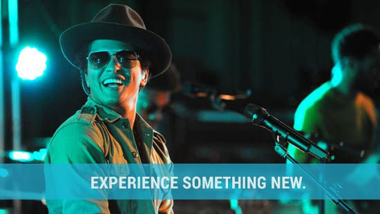 Experience #music #brunomars #concerts!