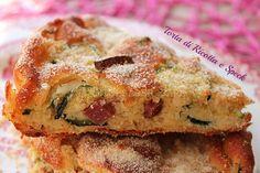 La Torta di ricotta e speck è facile da preparare, veloce e perfetta per ogni occasione. Con il caldo è preferibile gustarla fredda. E' sfiziosa e gustosa.