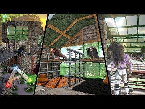 Ark Survival Evolved, How to build a dino pen, shoulder pet