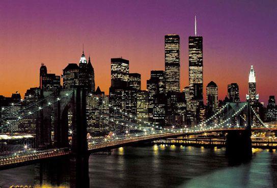 Carta da parati photomurales Manhattan fotomurali 366x254cm