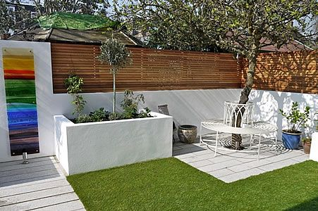 Garden design for an active family in Chiswick, west London