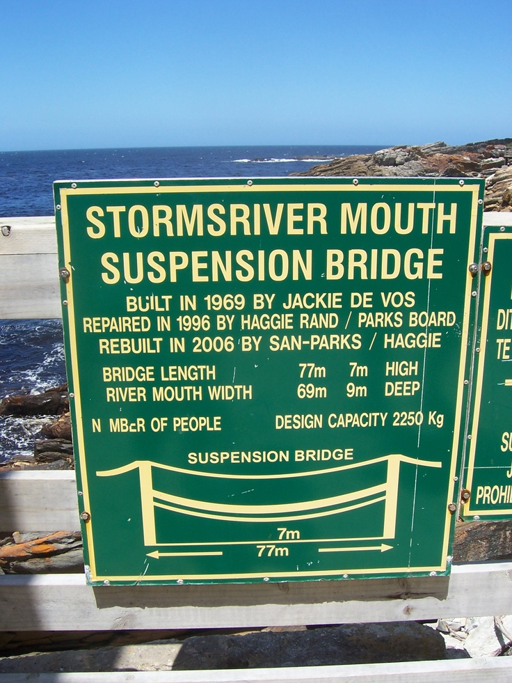 Bridge and mouth of Stormsriver