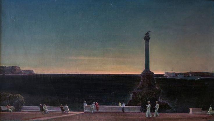 Georgy Nissky. Sevastopol. Evening. 1933