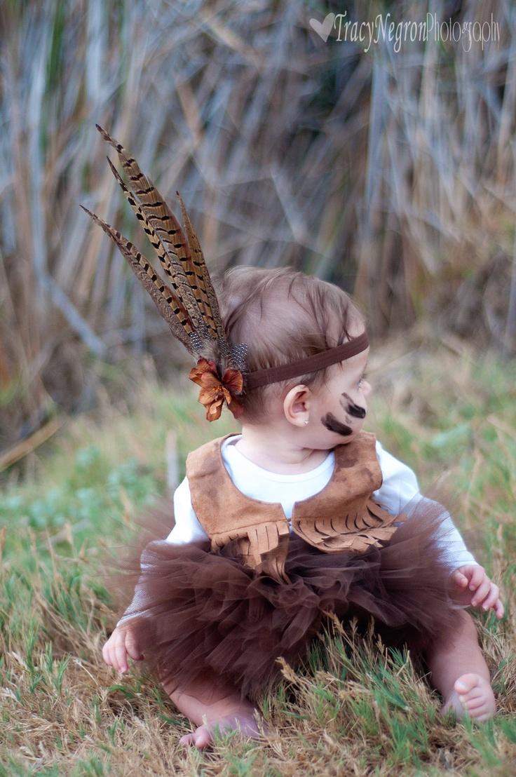 Indian headband,pocahontas, Indian headress, feather headband, indian costume,silk flower flower,brown headband,any size,newborn,photo prop. $15.99, via Etsy.