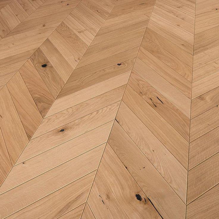Solidfloor Parkett create your floor Fischgrat Eiche Sydney gebürstet gefast natur geölt