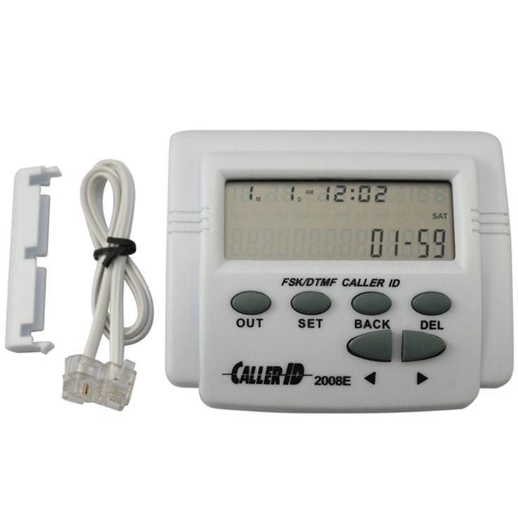 FSK/DTMF/ETSI Saluran Telepon Memanggil Tampilan Caller ID perangkat Bertenaga