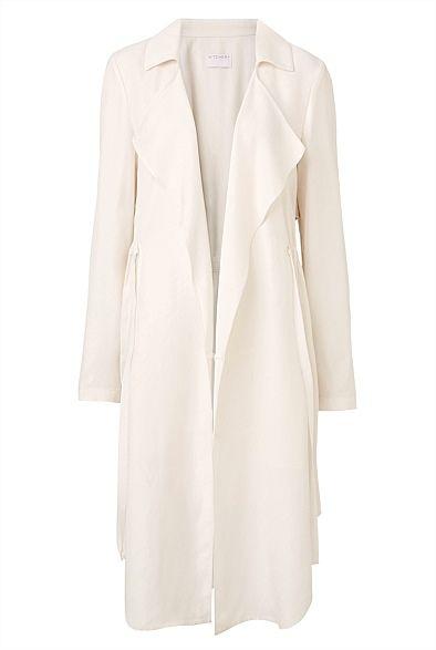 Petal Trench Coat | Jackets & Coats