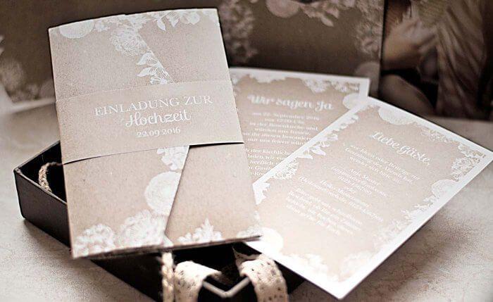 Hochzeitseinladung Vintage In 2018 Hochzeitskarten Und Co Pinterest