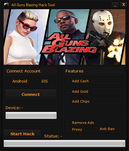 All Guns Blazing Hack Tool