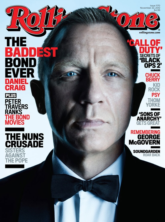 Grooming by Donald Mowat   Daniel Craig   Rolling Stone