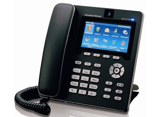 De Grandstream GXV3140 is voorzien van een Skype client en camera. Zo kunt u met deze VoIP telefoon gratis videobellen via Skype. Wanneer u aan beide kanten een Grandstream GXV3140 heeft, kunt u ook onderling gratis videobellen!
