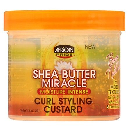 African Pride Shea Butter Miracle Curl Styling Custard 12 oz  $4.49   Visit www.BarberSalon.com One stop shopping for Professional Barber Supplies, Salon Supplies, Hair & Wigs, Professional Product. GUARANTEE LOW PRICES!!! #barbersupply #barbersupplies #salonsupply #salonsupplies #beautysupply #beautysupplies #barber #salon #hair #wig #deals #AfricanPride #SheaButter #Miracle #Curl #Styling #Custard