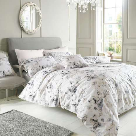 Holly Willoughby Jemima Green Bed Linen Collection | Dunelm