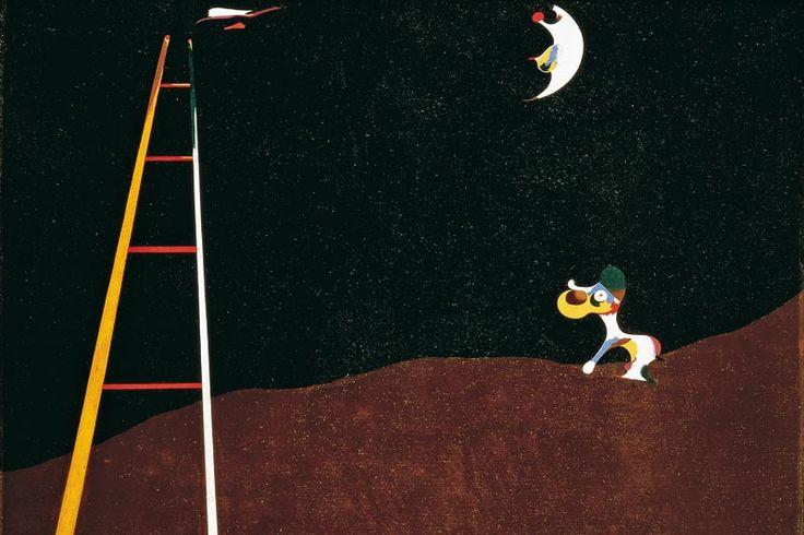 cane che abbaia alla luna