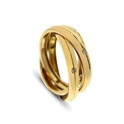 The Shop Where You Buy Refinement- Wedding Rings Signed Cartier