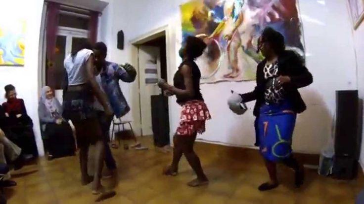 Dança Tradicional Puita de São Tomé e Príncipe