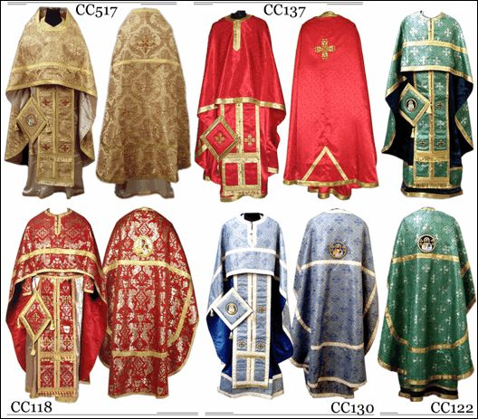 old russian orthodox priest vestments   BISHOP'S, PRIESTLY, DEACON'S 'S VESTMENTS