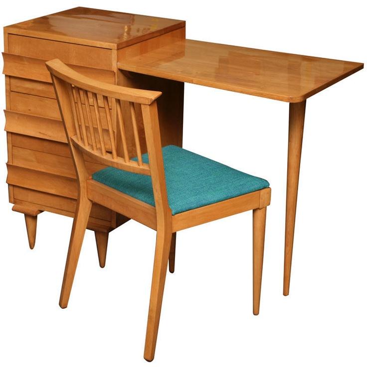 Carlo Di Carli Cherry Desk U0026 Chair