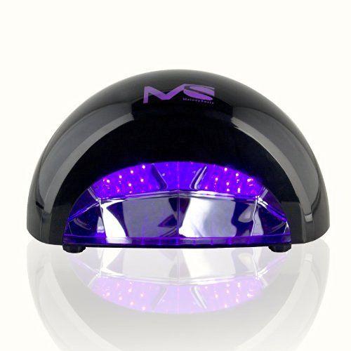 MelodySusie 12W LED Nail Dryer - Nail Lamp Curing LED Gel & Gelish Nail…