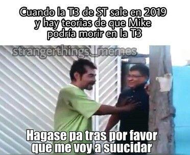 Memes de stranger things en español