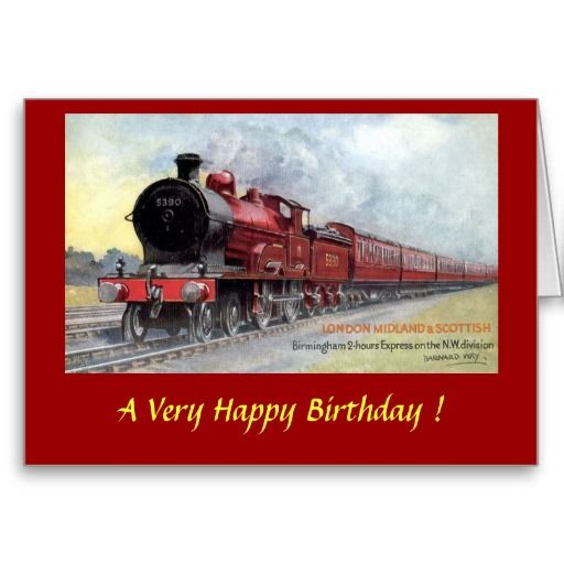 23 best birthday male train themed cards images on pinterest birthday card lms railway bookmarktalkfo Image collections