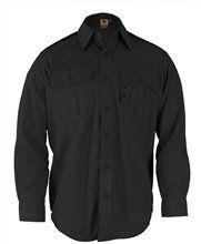 Propper Uzun Kollu Siyah Gömlek  % 65 polyester / yırtılmayı önleyenl% 35 pamuklu ripstop kumaştır.