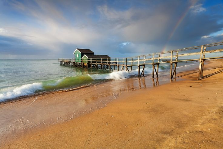 Shelly Beach, Mornington Peninsula, Australia.
