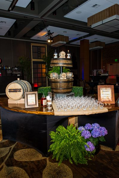 Woodinville Whiskey Tasting Station