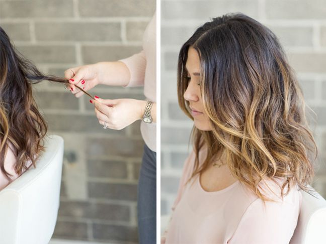 Here are the tips and tricks from the pros on how to style a lob with a sexy, textured look.