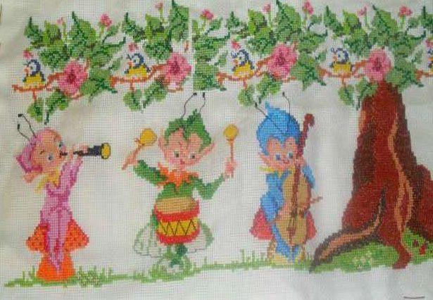 Cenefas para cortinas de bebes. http://www.bumbi.com/things/600/Cenefas-para-cortinas-de-bebes