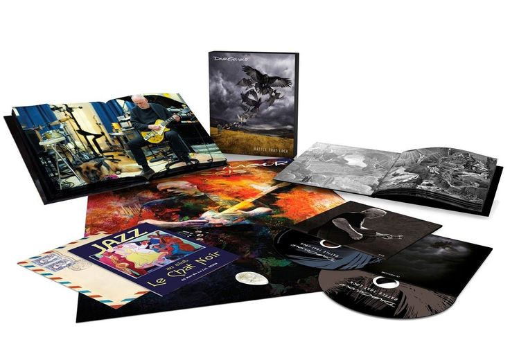 David Gilmour Rattle That Lock (CD+DVD)