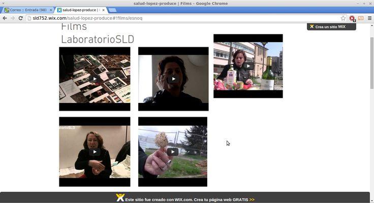 LaboratorioSLD: Films e Vídeo instalaciones I. LaboratorioSLD