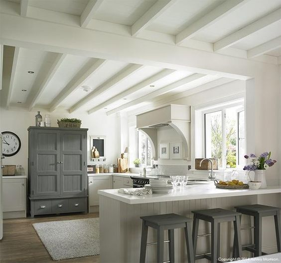 Muted Kitchen colour palette