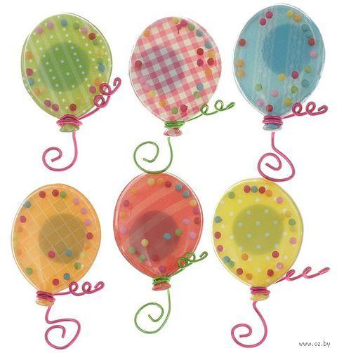 """Стикеры для скрапбукинга """"Воздушные шары"""" (арт. EKS-50-21742)"""