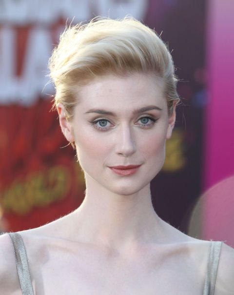 The right way to work the windswept look, Elizabeth Debicki's crop is the effortless way to work a faux updo.