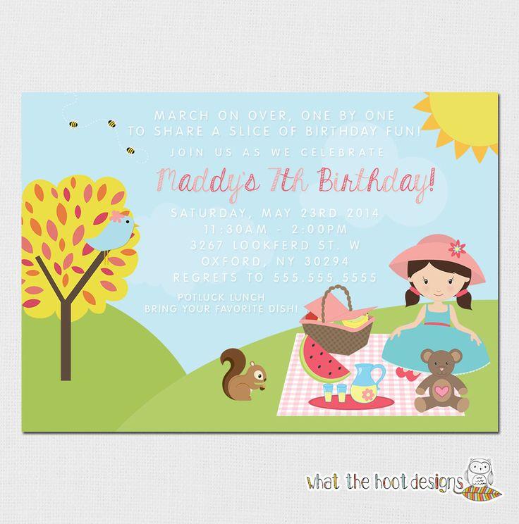 Best 25+ Picnic invitations ideas on Pinterest Teddy bears - picnic invitation template