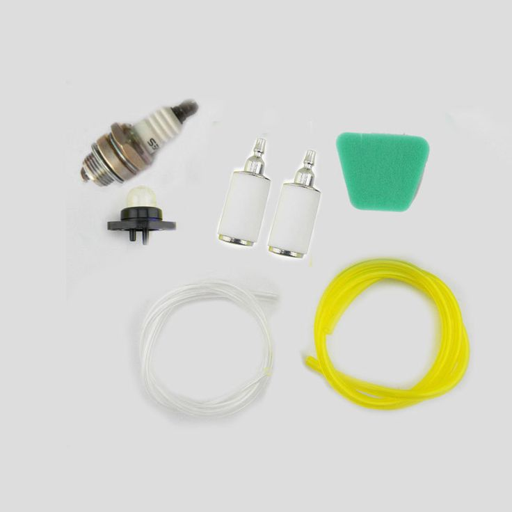 wholesale High quality Chainsaw parts 6616 6617 Yellow Fuel line Air Filter Spark Plug walbro 188-513 Primer Bulb For