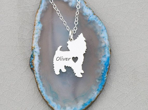 SALE  Yorkshire Terrier Gift Yorkie Necklace  Dog Yorkie Pet