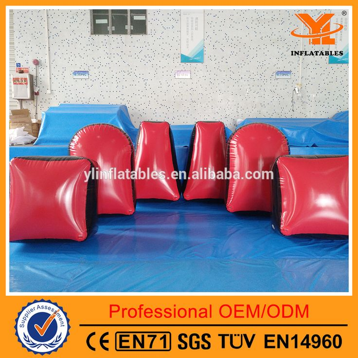 Inflatable Paintball Bunkers for Outdoor Game, PVC Inflatabl Bunker for Sale
