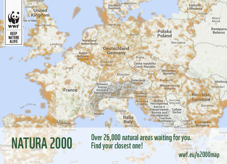 Wherever you are, find a Natura2000 site with just a click!  http://www.wwf.eu/naturemap
