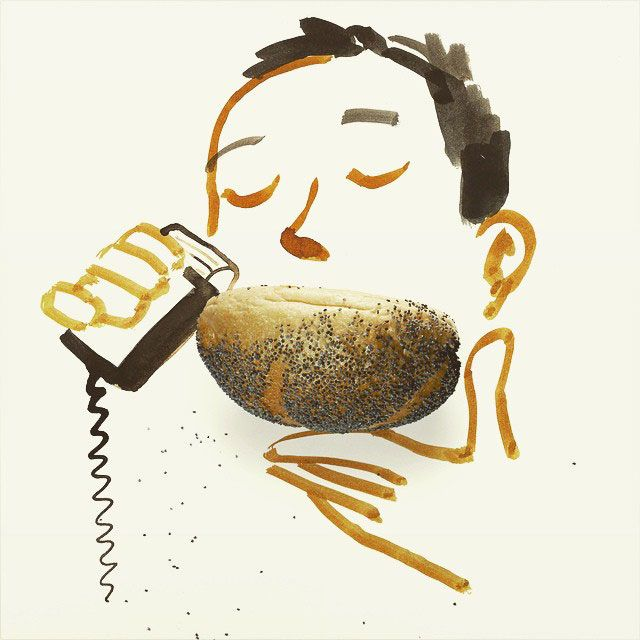 Objet du quotidien pour créer des oeuvres d'art par Christophe Niemann guillaume riottot