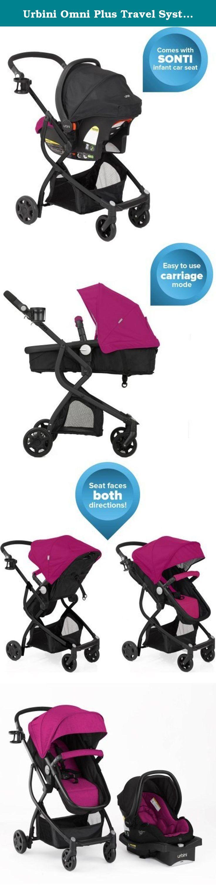 Urbini Omni Plus Travel System Reversible Stroller