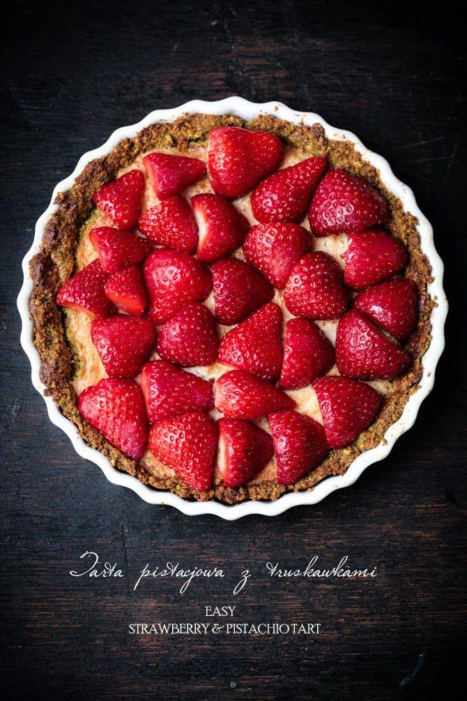 BAYADERKA : Tarta pistacjowo-truskawkowa