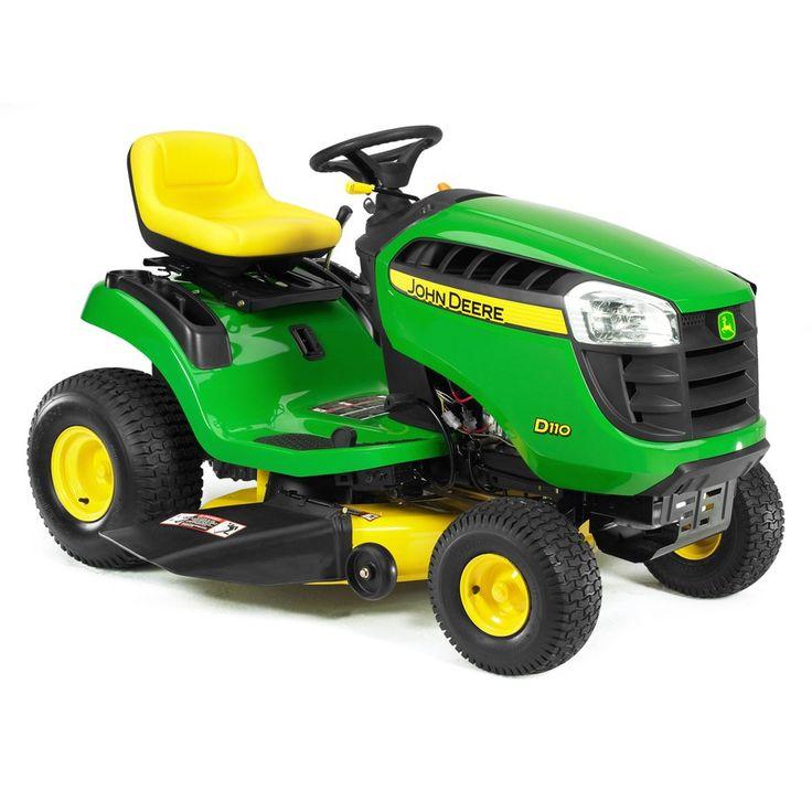 John Deere LA115 w/ mulcher - my new mower!