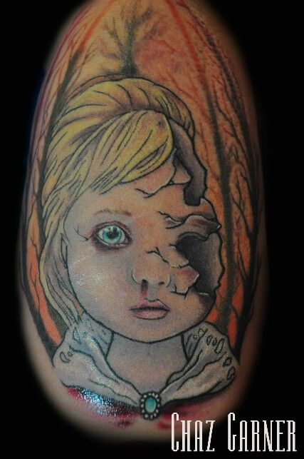 Fragile Porcelain Doll Tattoo Tattoos By Me Pinterest Tattoos And Body Art Dolls And
