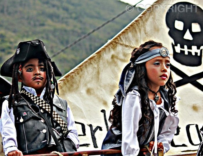 Pirates of Ecuador - Baños Annual Parade