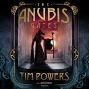 I finished listening to The Anubis Gates by Tim Powers, narrated by Bronson Pinchot on my Audible app.  Try Audible and get it free.