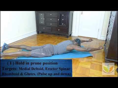 Heal Thoracic Kyphosis With Six Simple Exercises - YouTube